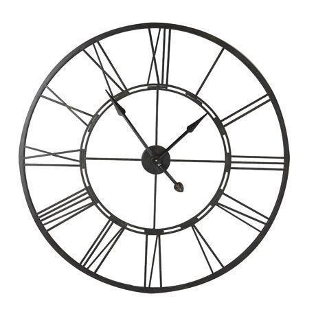 Arles Clock 101cm  Black