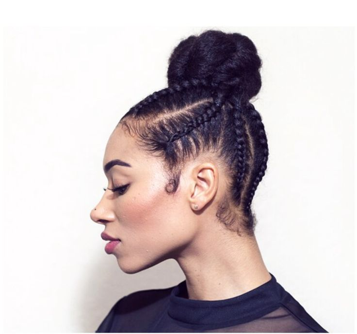 Black Hair Style 82 Best Black Hair Updos Images On Pinterest  Hair Dos Black Hair
