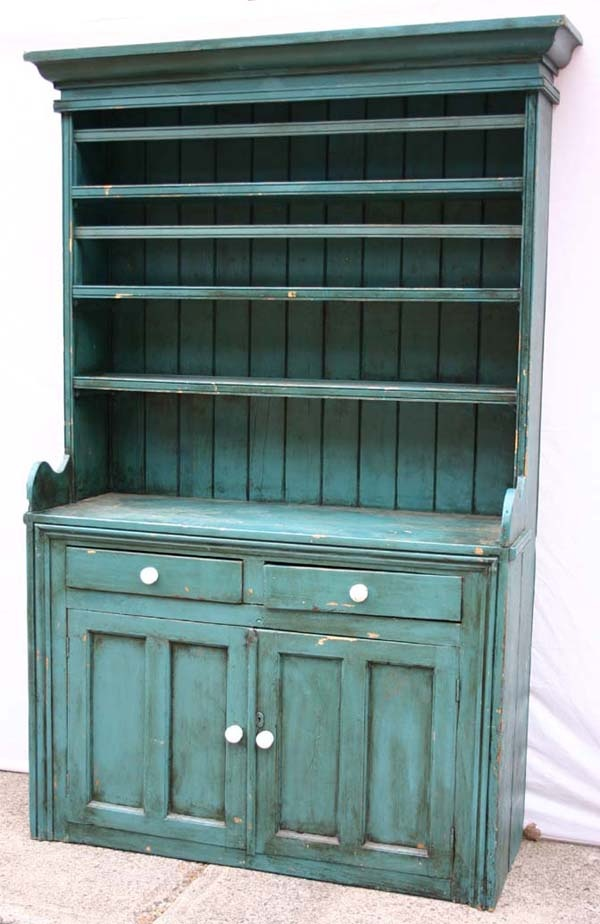 Irish Step Back Cupboard With Bowl Guards And Plate Gutters Circa 1850   1860 The. Primitive CabinetsPrimitive ...