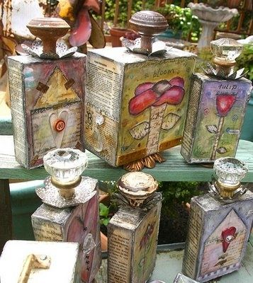 I want to make some of these for my studio....very cheery