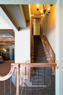 JWH Construction Management Millwork - traditional - staircase - new york - JWH Design and Cabinetry LLC