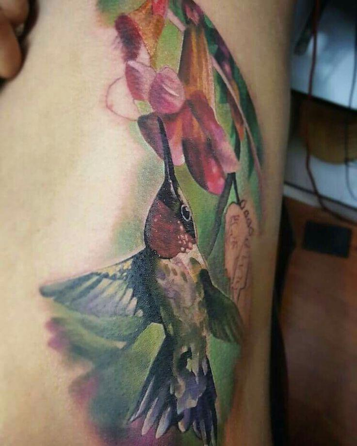 #humminbird #tattooart #realist #sirak