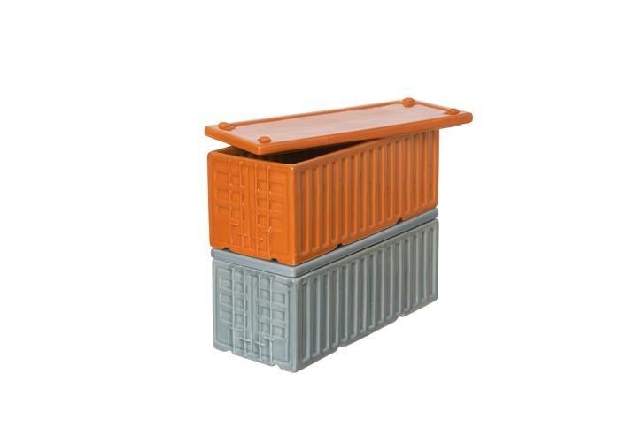 Daniel Ballou Cargo Container Gray/Orange