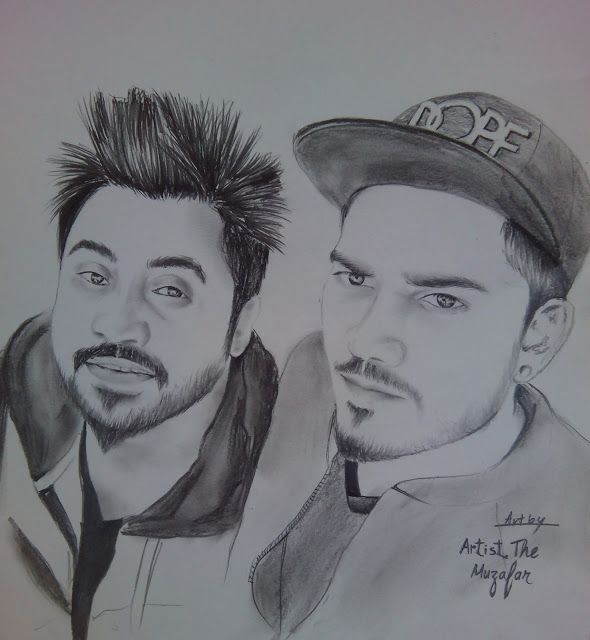 DESI CREW sketch by artist the muzafar