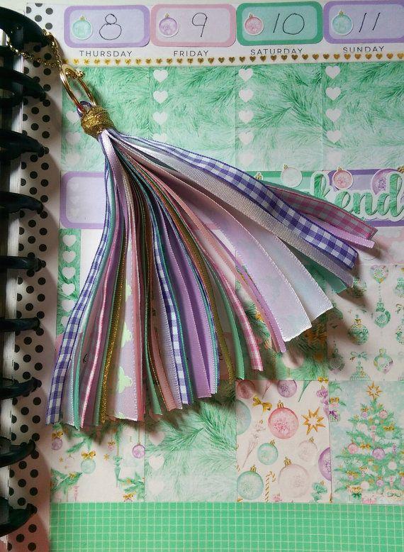 Tassel Pink Mint Deer Lavender Purple White Gold by PumpkinParcel
