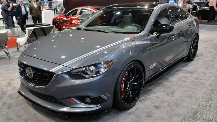 View detailed pictures that accompany our Mazda Club Sport 6 Concept: SEMA 2013 article with close-up photos of exterior and interior features.