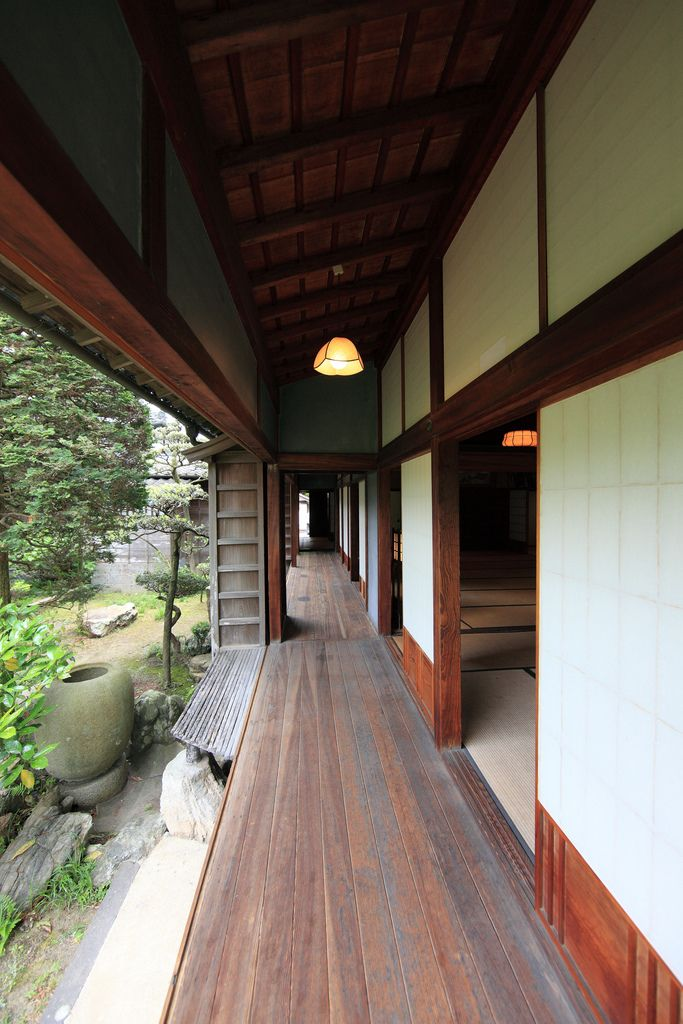 Japanese traditional style SAMURAI house, Usuki, Oita, Japan