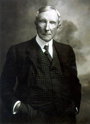 """I believe the power to make money is a gift from God"" -John D. Rockefeller"