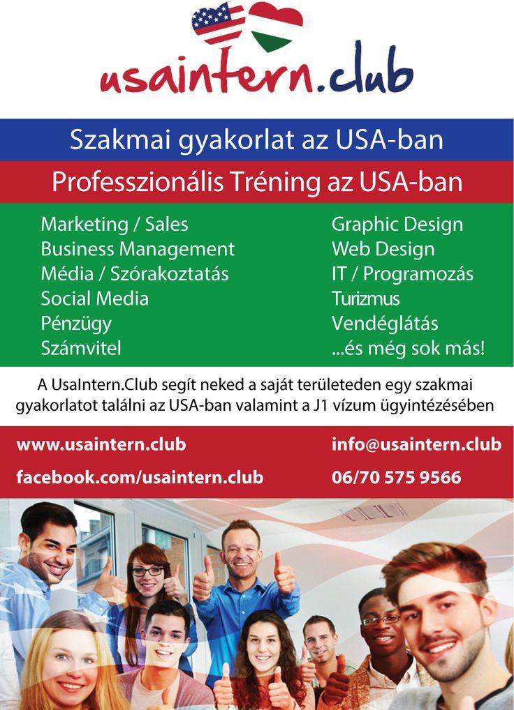 Szerezz szakmai gyakorlatot az USA-ban!