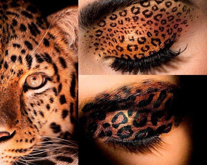 Leopard Augen Make-up | Mode
