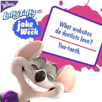 Happy Dentist's Day! We hope you're all smiles from this week's joke