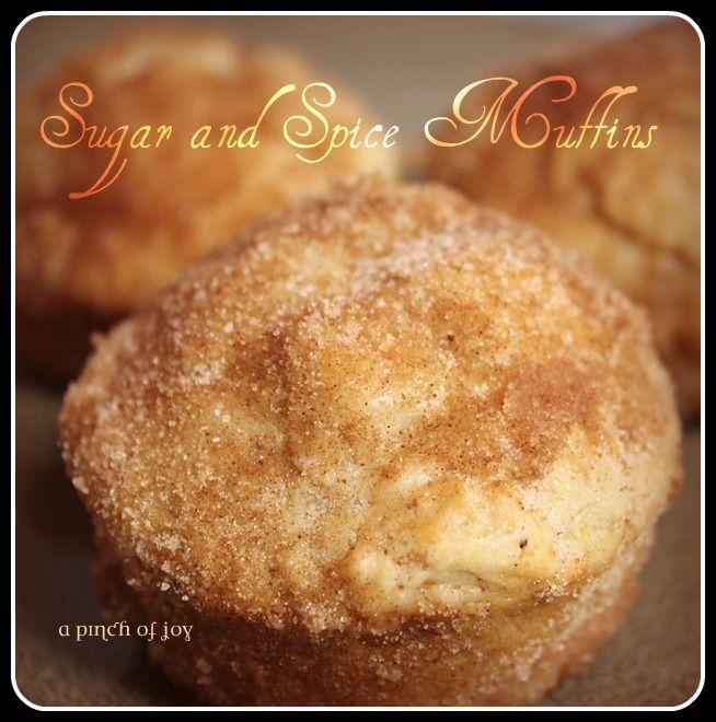 Sugar and Spice Muffins – Best Breakfast Muffins Ever