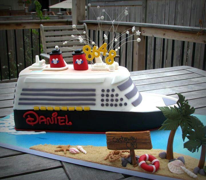 Cruise Birthday Cake