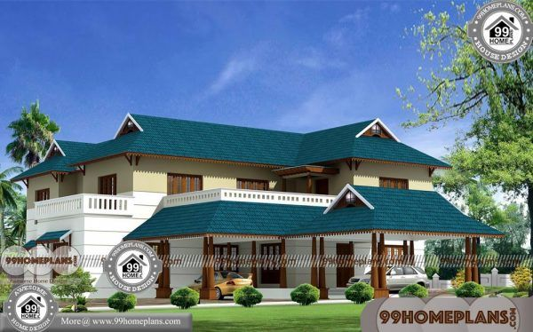 Nalukettu Veedu Plan And Cost With 3d Elevations Low Budget Cute Plans House Plans With Pictures Courtyard House Plans House Plans With Photos