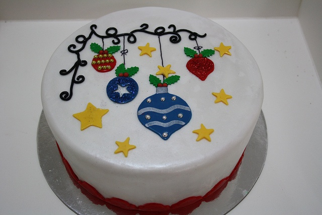 Christmas Cake, via Flickr.