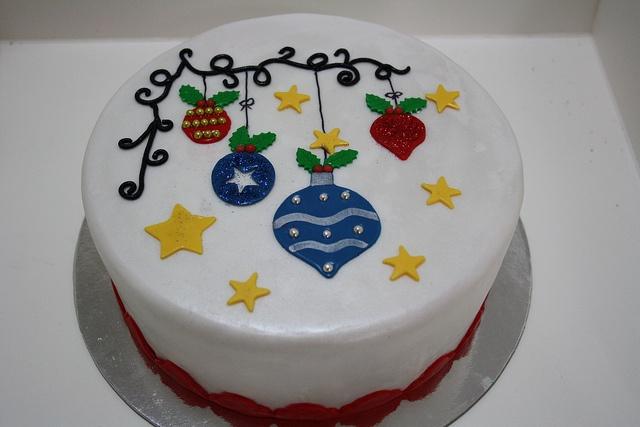 Christmas Cake, via Flickr.