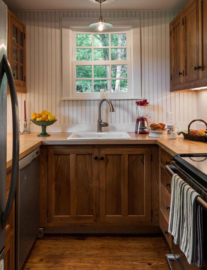 Kleines Küchendesign: Ideen für 2018 | Küche Dekoration | Pinterest ...