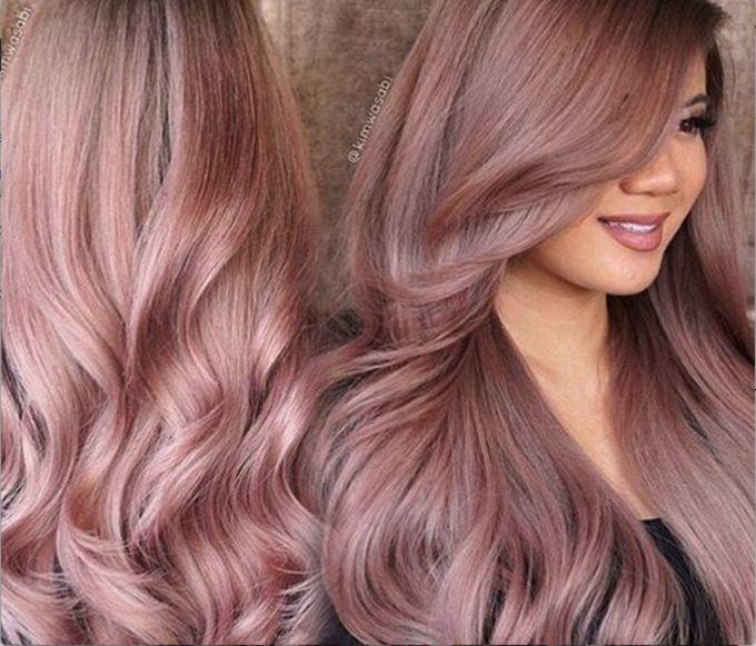 Rose Gold Hair - O cabelo do Momento! - Andreza Goulart!