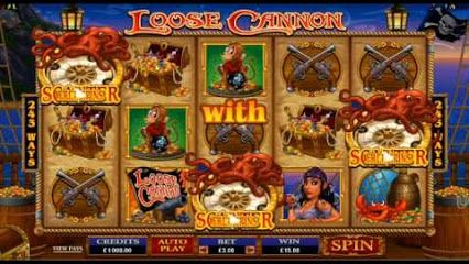 €,$,£ Bonuses for New Players. Video of the Loose Cannon Online Slot Game from Euro Palace Online Casino, Vegas Palms Online Casino, Platinum Play Online Casino and Royal Vegas Online Casino. Great graphics, audio and playability. Has a really upbeat feel to this game. More info here - http://bit.ly/1iThOqW http://bit.ly/1st4wm7 #wilds #scatters #freespins #newslots #rollingreels #slots #onlineslots #onlinecasinos #bigwin #superbigwin #megabigwin www.bonusplaycasinos.com