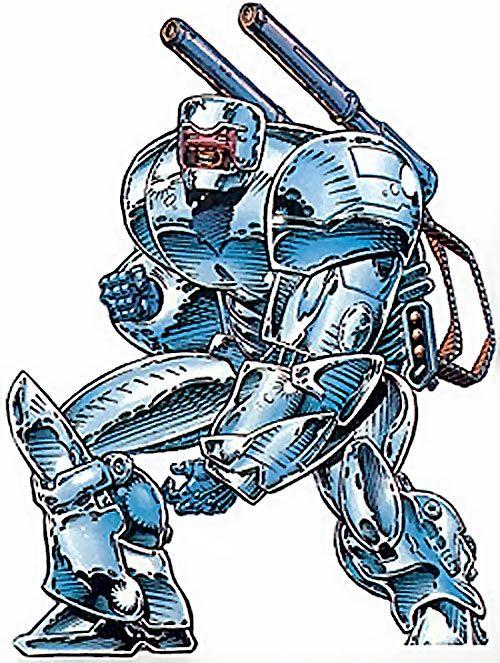 Howitzer of the Gene Dogs (Marvel Comics UK). From http://www.writeups.org/howitzer-gene-dogs-marvel-comics-uk/