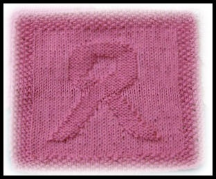 Breast Cancer Dishcloth Knitting Pattern : 17 Best images about Projects to try on Pinterest Free pattern, Means of co...