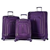 Set of 3 Deep Purple Suitcases - $330.00 at The Purple Store
