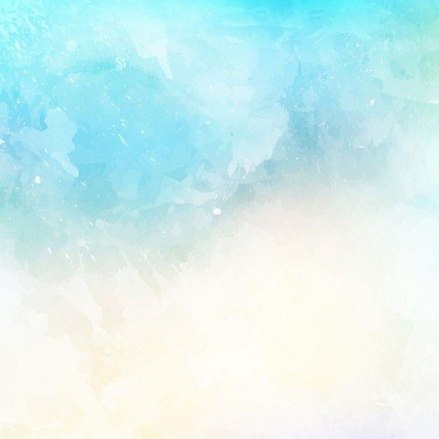 Resumo de fundo com uma textura da aguarela Vetor grátis