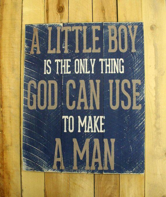 Boys Nursery Decor Blue Nursery Decor Pallet by RusticlyInspired