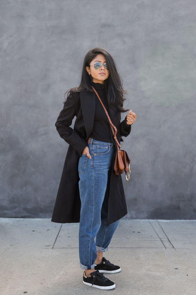 Cloak: Zara / Jeans: H & M / Schuhe: Feiyue / Heels: Raye das Label / Tasche: Chloehttp