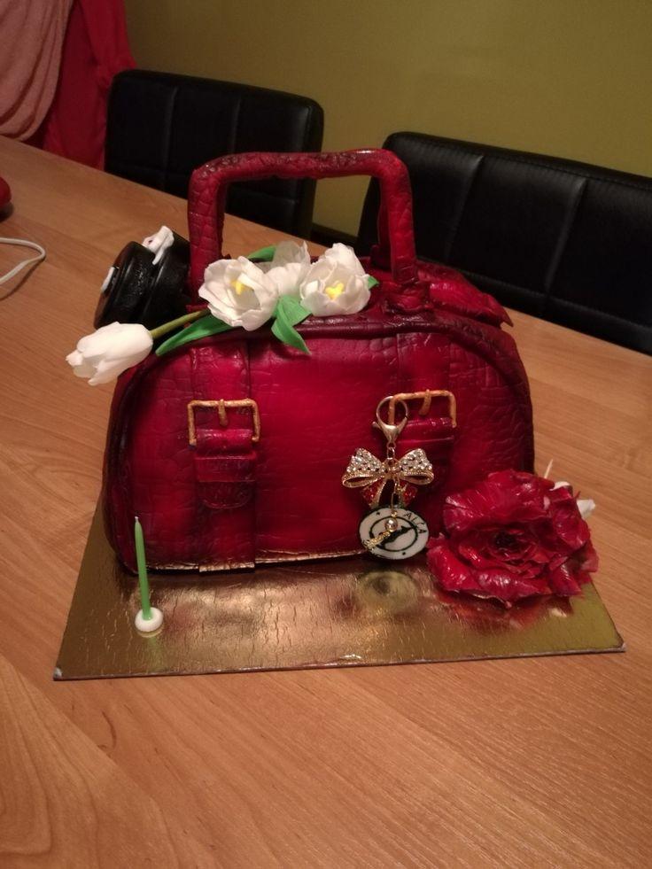Ladies bag_crocodille & tulip & rose