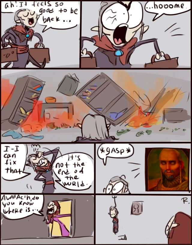 The Witcher 3, doodles 11 by Ayej on DeviantArt