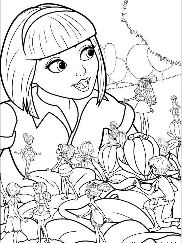 barbie dog coloring pages. You can ask all girls in the ...