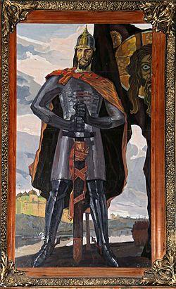 Александр Ярославич Невский — Картина в Марьино, усадьба Барятинских, Курская область