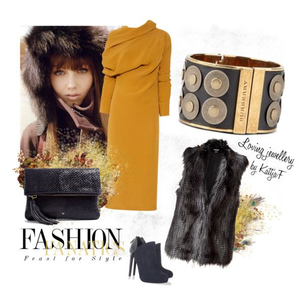 """""""Cuff bracelet and fall colors"""" by kattjaf on Polyvore"""