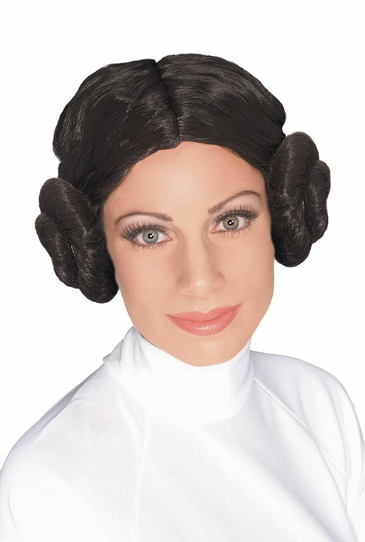 Princess Leia Costume Wig - Authentic Star Wars Costumes
