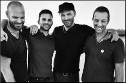 Coldplay tour dates