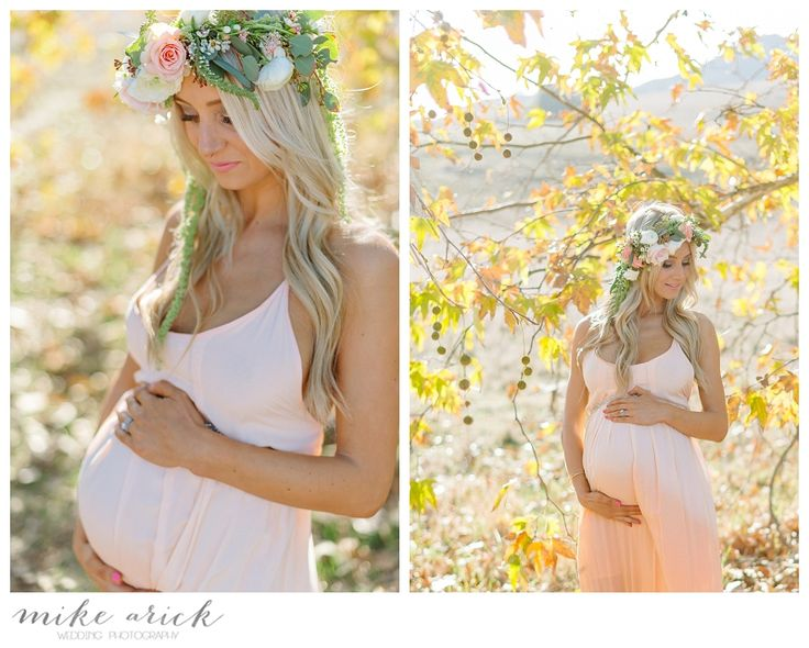 Mike Arick - Orange County Maternity Photographer - flower crown / floral crown