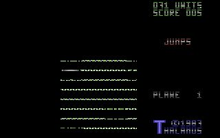 Quedex is a very interesting game in the Commodore 64 library. The game was first released in 1987 and was the brain child of the very talented Stavros Fasoulas.