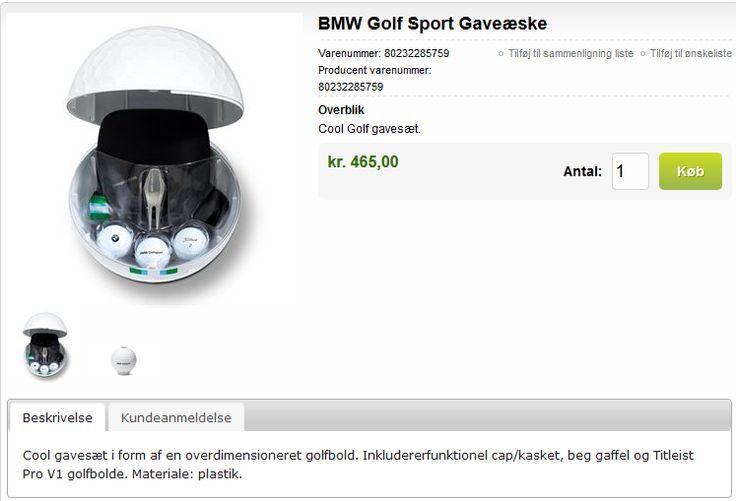 BMW Golf - sæt