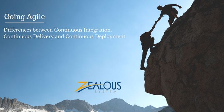 Going Agile: Difference between continuous integration, continuous delivery and continuous deployment