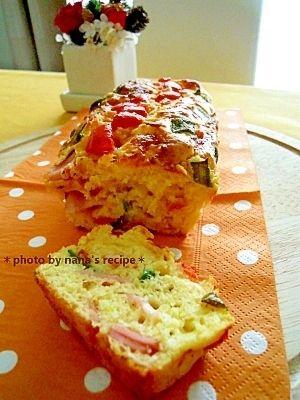 楽天が運営する楽天レシピ。ユーザーさんが投稿した「クリスマスに★豪華に見えて超簡単!!ケークサレ」のレシピページです。とろけるチーズをたっぷり入れることでオイルは少量でOK。プチトマトやピーマンで簡単に華やかなひと品に!。薄力粉,ベーキングパウダー,生クリーム,卵,サラダ油,ピザ用チーズ(細かめのもの),ベーコン,ピーマン,プチトマト,ハーブソルト(塩)