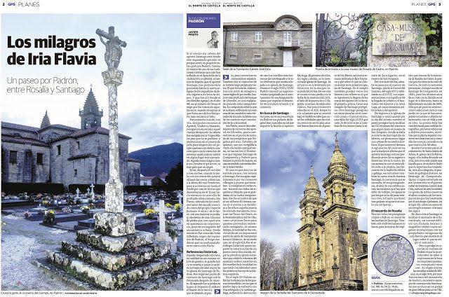 Reportaje sobre Padrón publicado por Javier Prieto Gallego en el periódico EL NORTE DE CASTILLA. www.siempredepaso.es