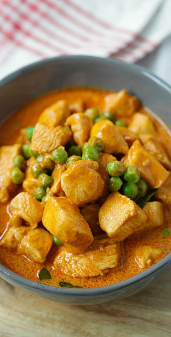 411 best asian food galore images on pinterest asian recipes panang curry thai panang curry with chicken and green peas easy 20 minutes forumfinder Gallery