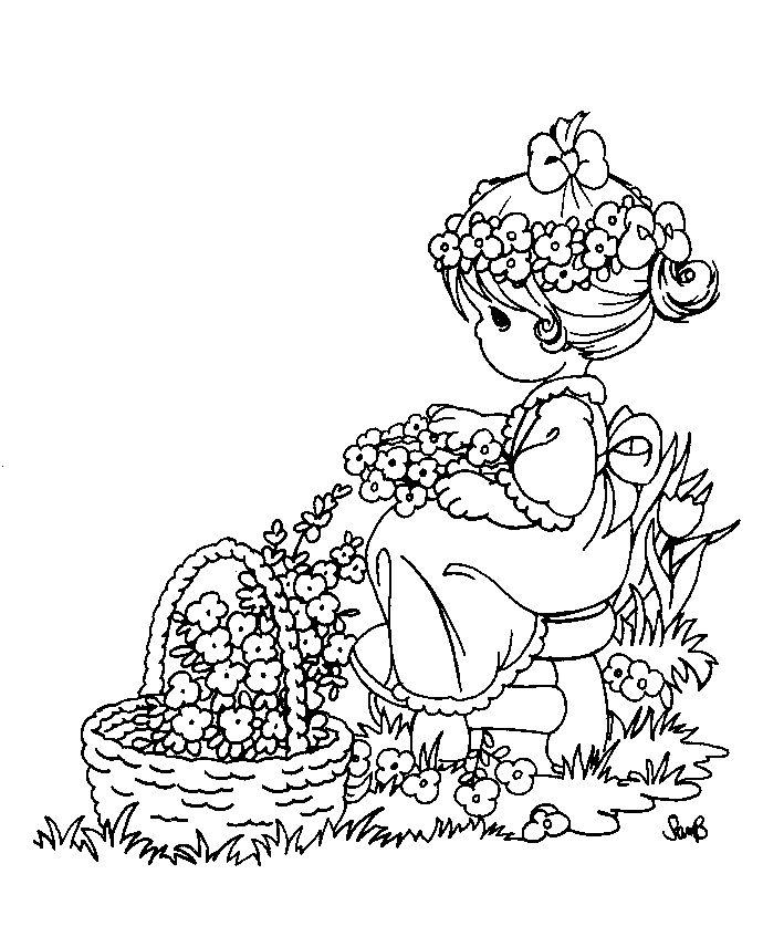123 best Sarah Kay & Charlotte aux fraises a colorier images on ...