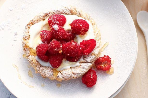 Baklava tarts with berries receipe   ♥ Strawberry Love ...