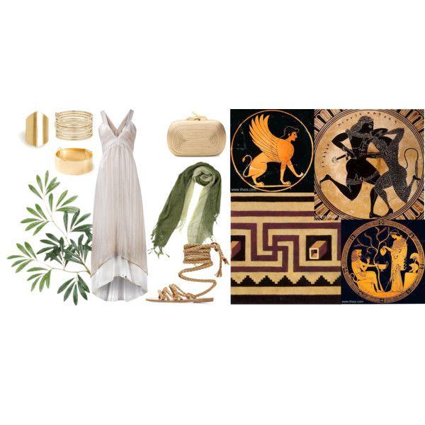 """""""greek goddess"""" by lelouka on Polyvore"""