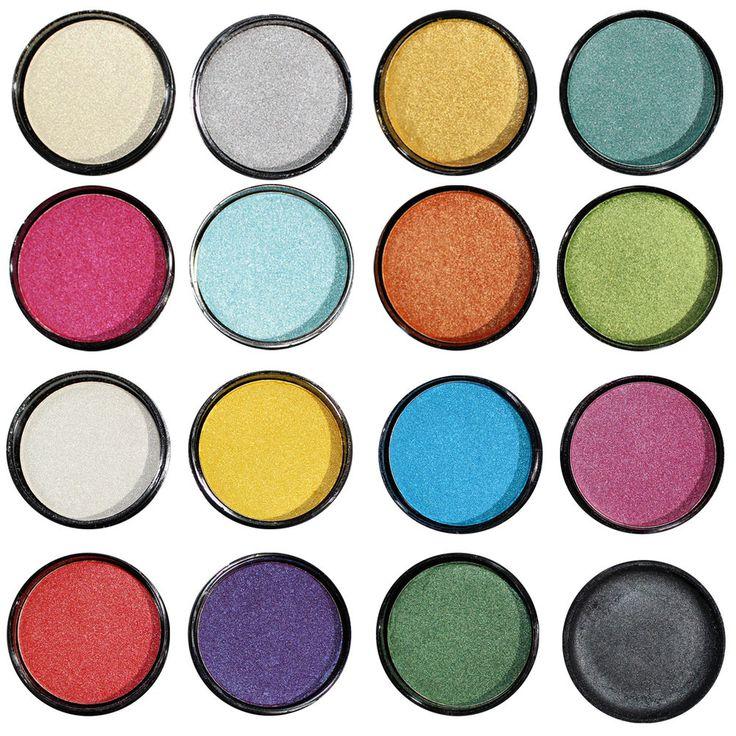 Ombretto Occhi Polvere Pressato Luminoso 16 Colori Makeup Dolci Sguardi SARANI