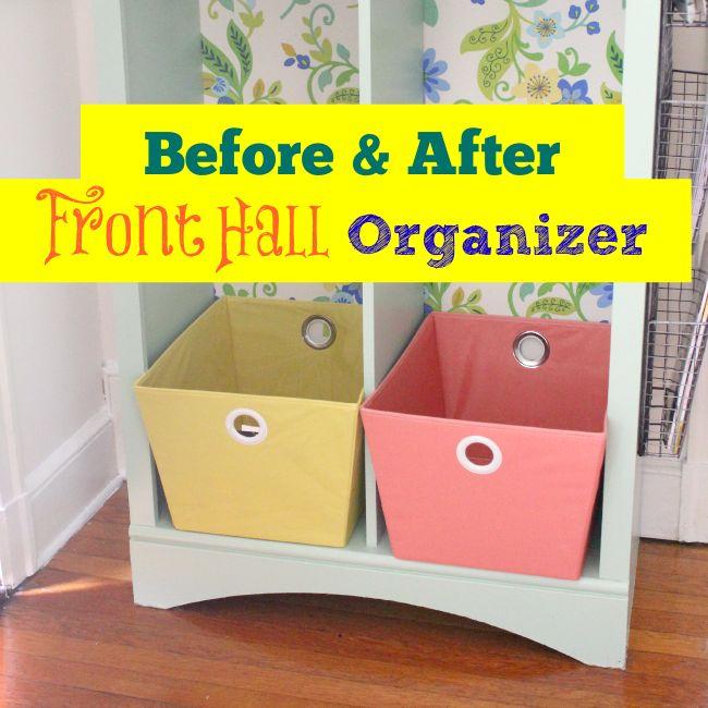 Front Hall Organizer :: Hometalk