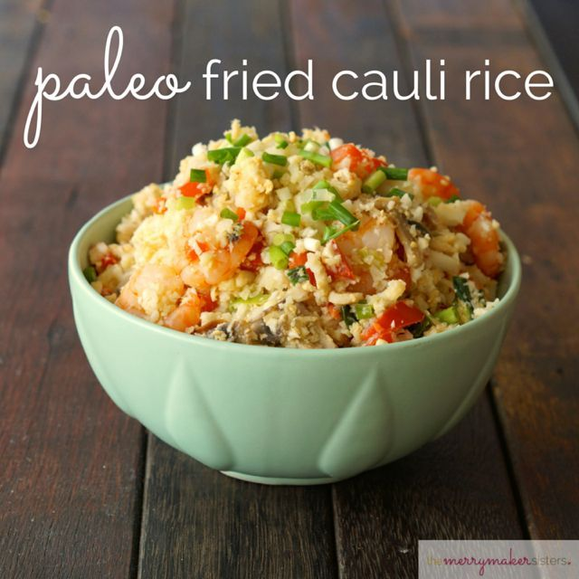 Get our super quick, easy and delish recipe for Paleo Fried Cauli Rice! It's so tasty we know you're going to love it!