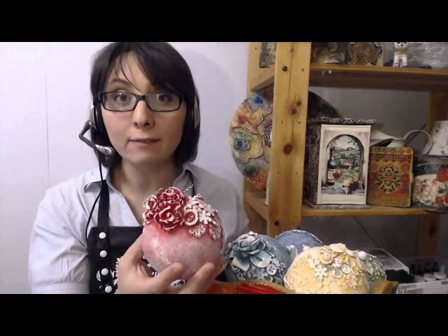 Подборка вебинаров и видео МК по изготовлению Новогодних шаров
